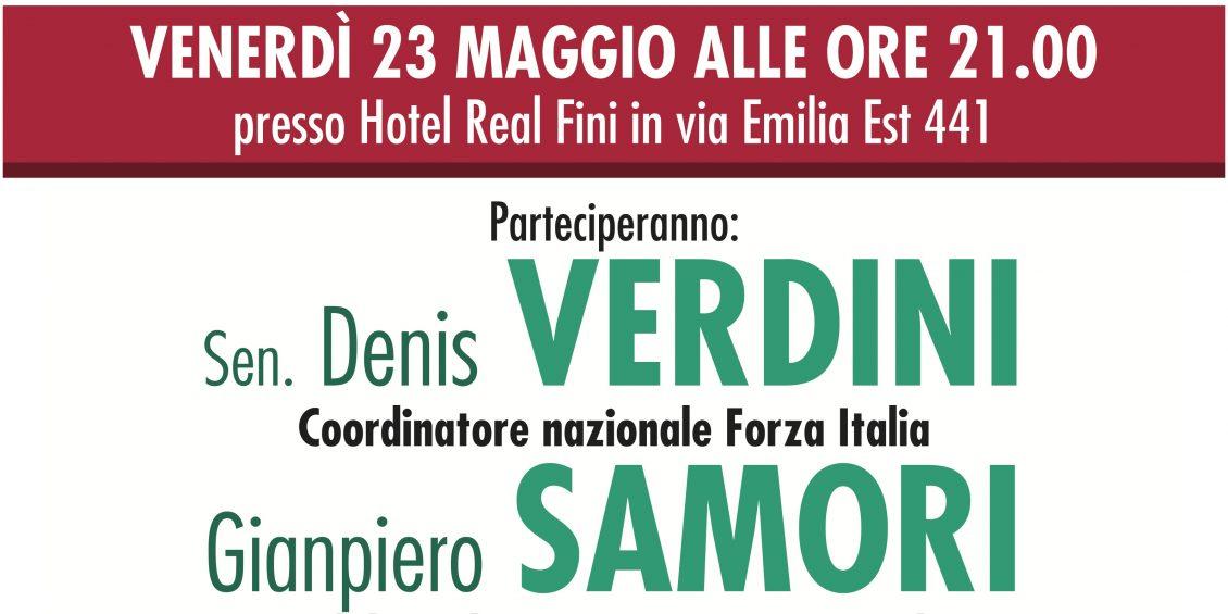 Festa chiusura campagna elettorale FORZA ITALIA, SAMORI