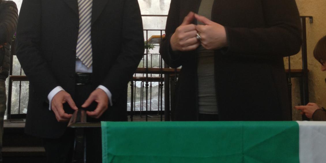 Donazzan e Samorì incontrano elettori a Bassano del Grappa