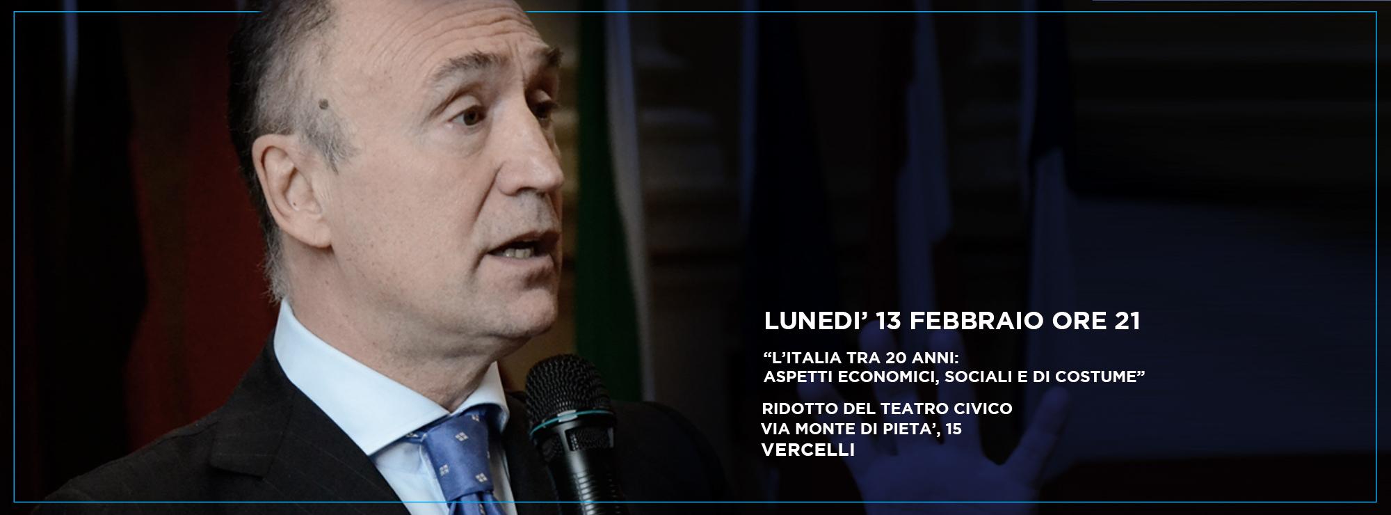 gianpiero samorì evento vercelli italia tra 20 anni