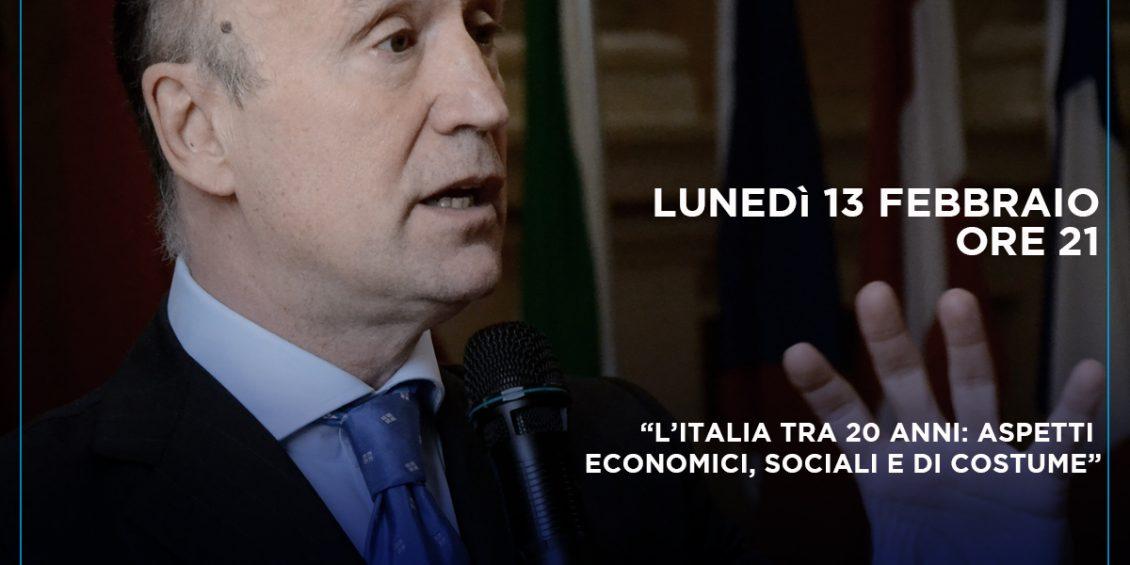Gianpiero Samorì l'italia tra 20 anni