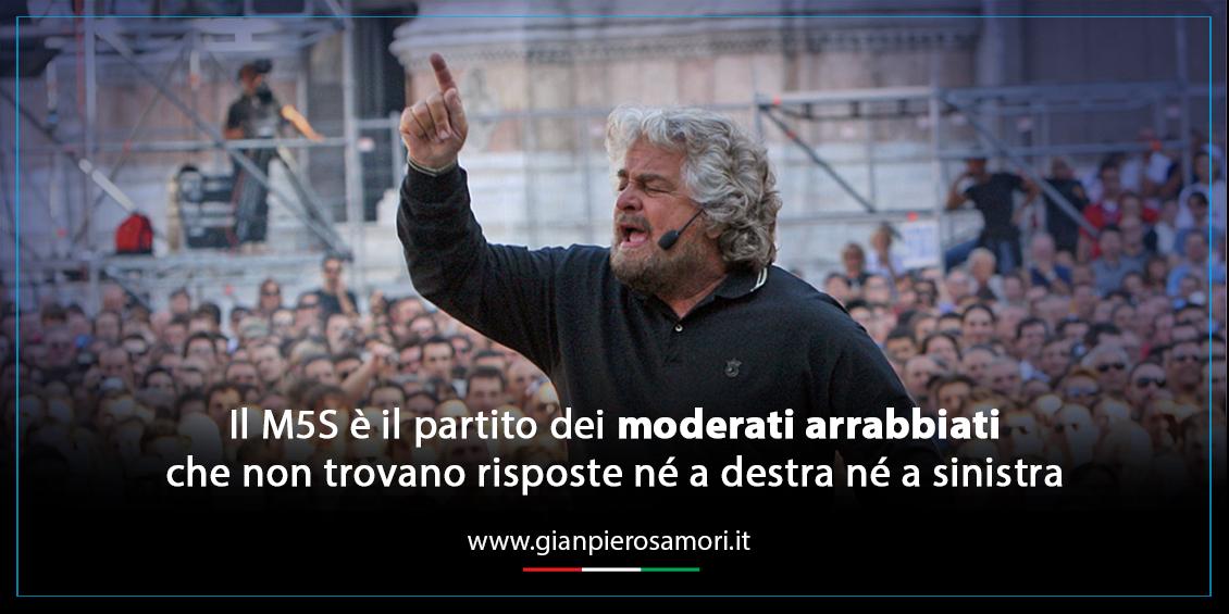 gianpiero Samorì sul Movimento 5 Stelle