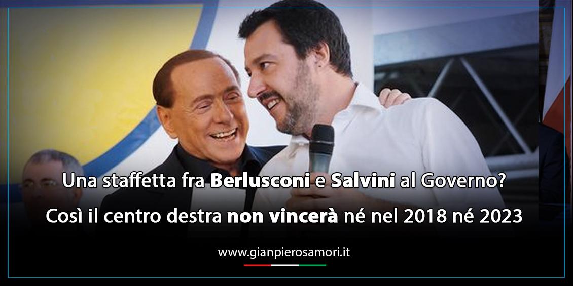 gianpiero Samorì su Berlusconi e Salvini