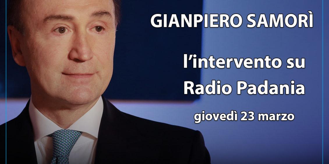 gianpiero Samorì Mir intervento radio Padania
