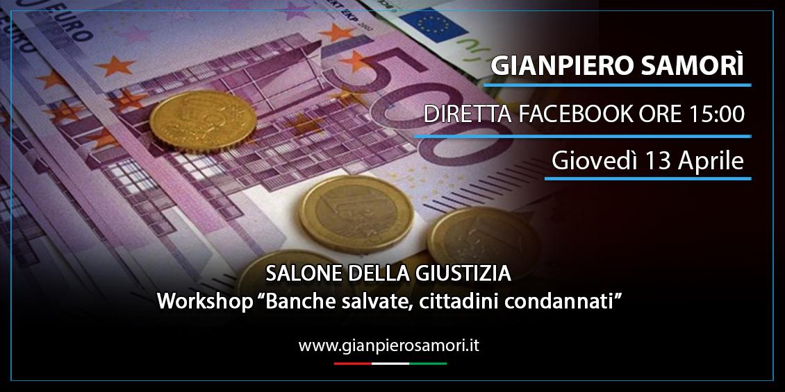 gianpiero Samorì - Salone della Giustizia diretta facebook