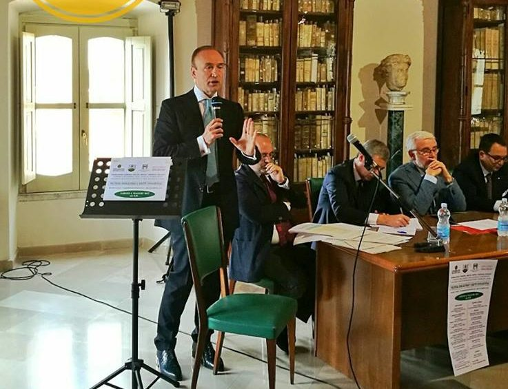 gianpiero samorì Convegno Ariano Irpino